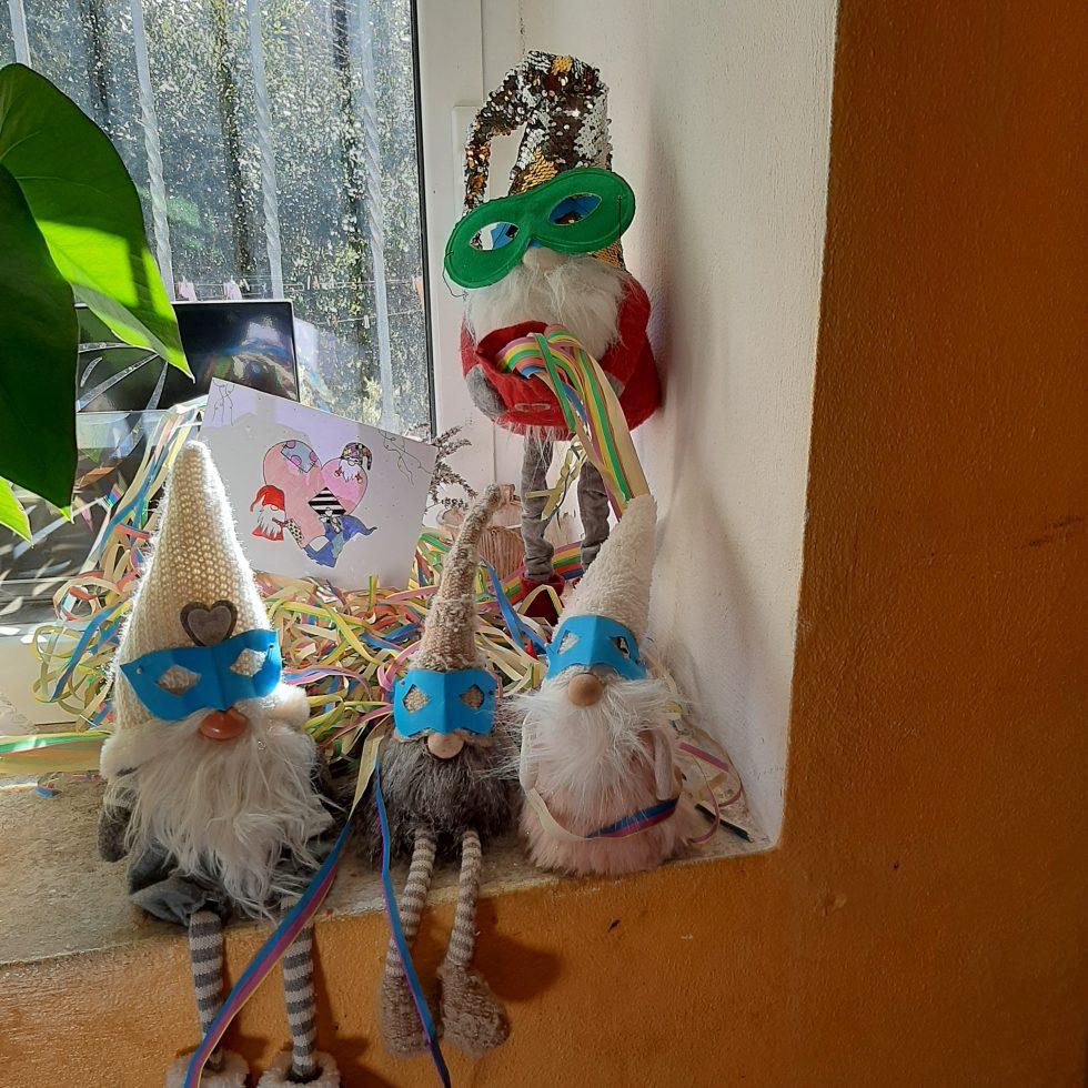 gnomi a carnevale